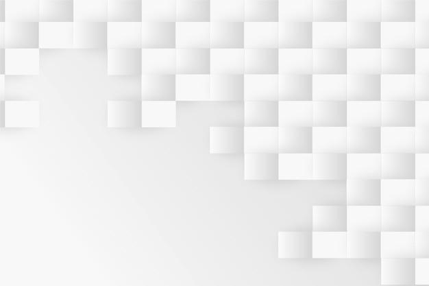 Fondo abstracto en estilo de papel 3d vector gratuito