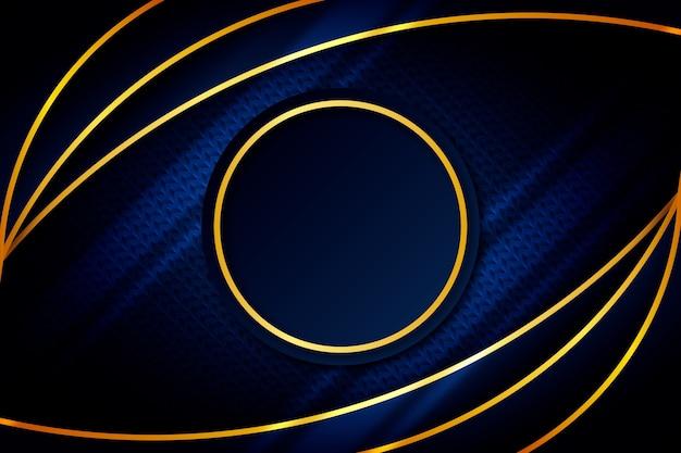 Fondo abstracto con formas circulares vector gratuito