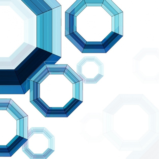 8962496ce53c9 Fondo abstracto con formas geométricas azules