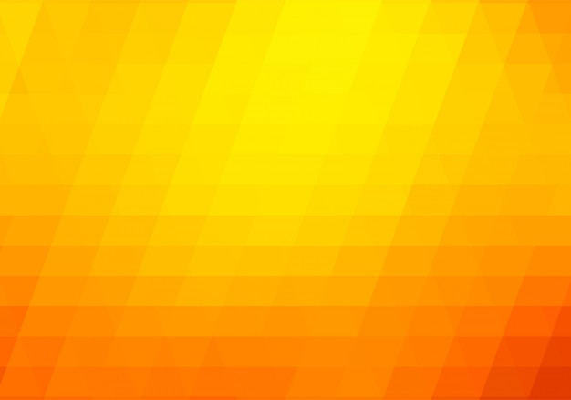 Fondo abstracto de formas geométricas naranjas y amarillas vector gratuito
