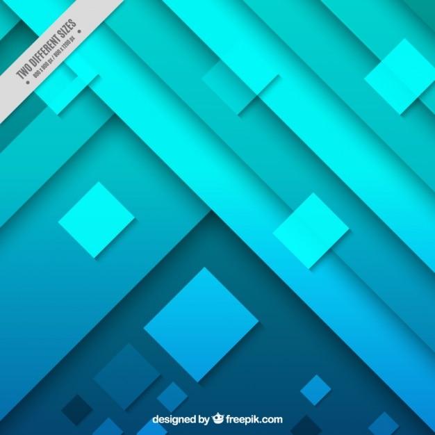 e728f73e652e4 Fondo abstracto con formas geométricas en tonos azules y verdes ...