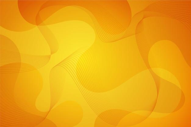 Fondo abstracto formas onduladas vector gratuito