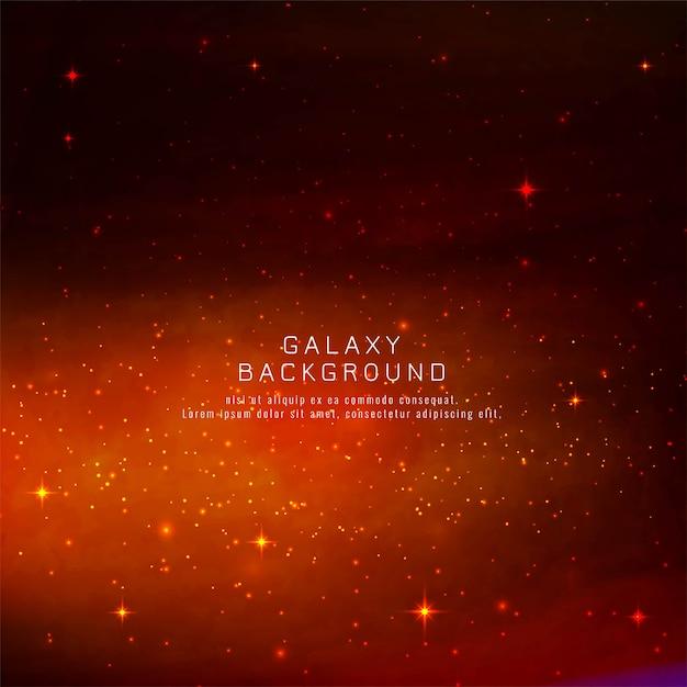 Fondo abstracto de la galaxia vector gratuito