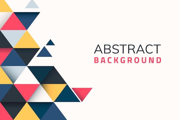 Fondo abstracto geométrico vector gratuito