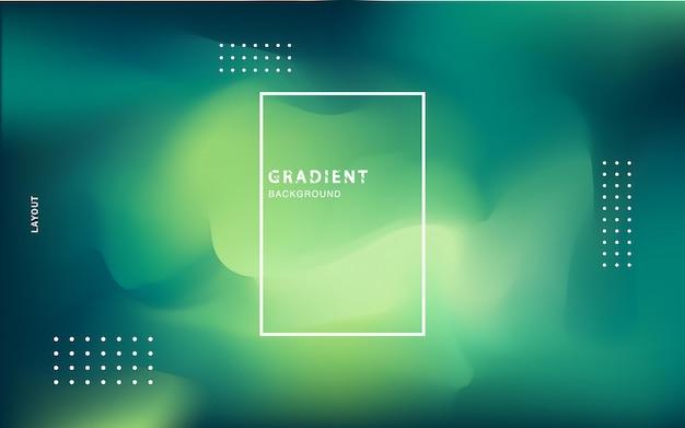 Fondo abstracto con gradiente Vector Premium