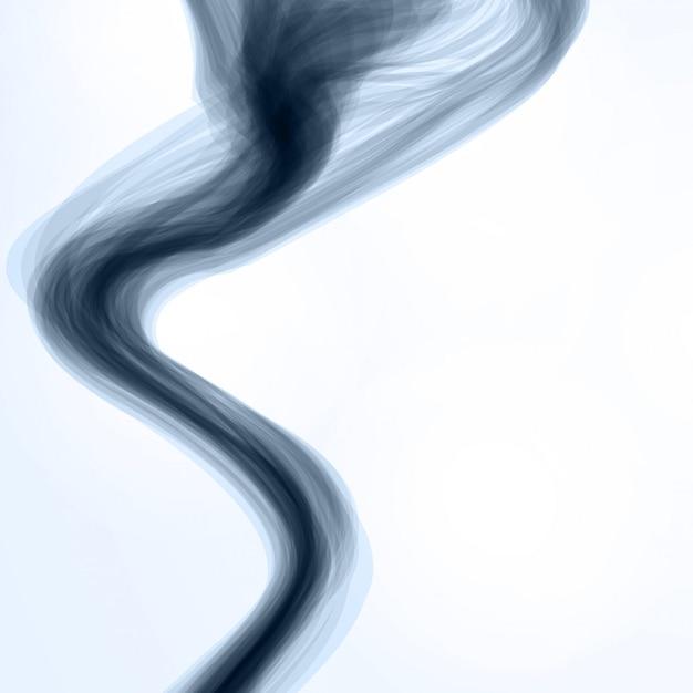 Fondo abstracto de humo Vector Premium