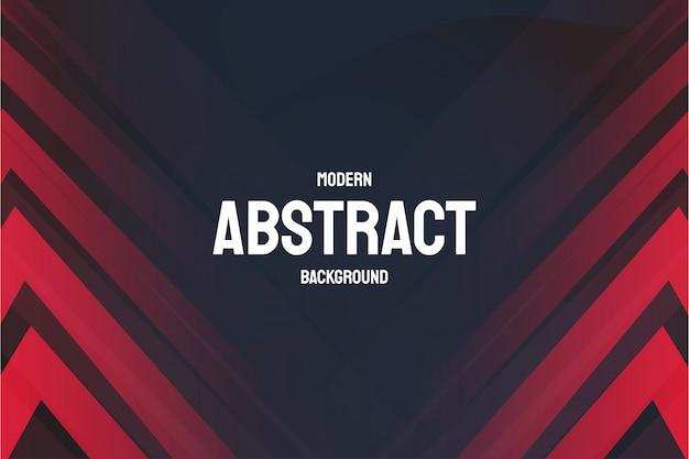 Fondo abstracto moderno con líneas rojas vector gratuito