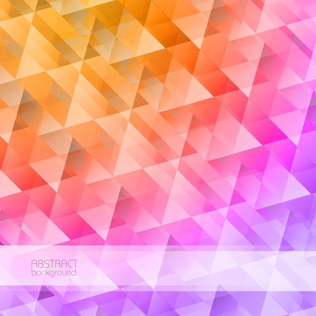 Fondo abstracto de mosaico de cuadrícula vector gratuito
