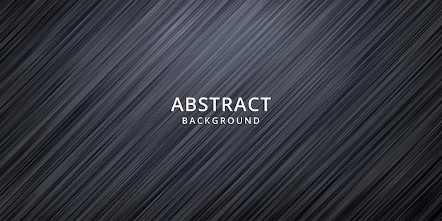 Fondo abstracto de onda. papel pintado de rayas. portada de banner Vector Premium