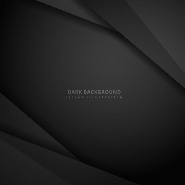 Fondo abstracto oscuro vector gratuito
