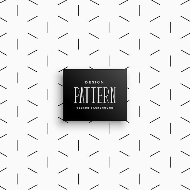 Fondo abstracto del patrón de líneas mínimas vector gratuito