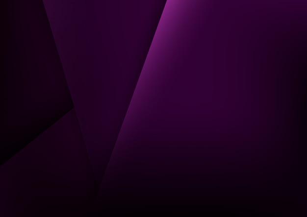 Fondo abstracto púrpura Vector Premium