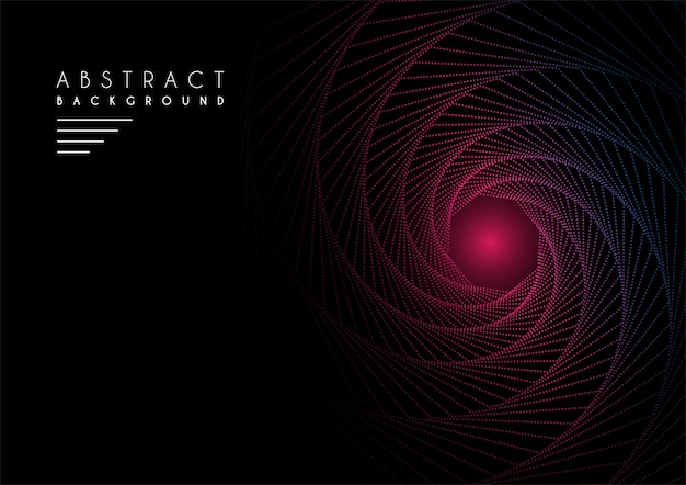 Fondo abstracto con texto de ejemplo en color oscuro Vector Premium