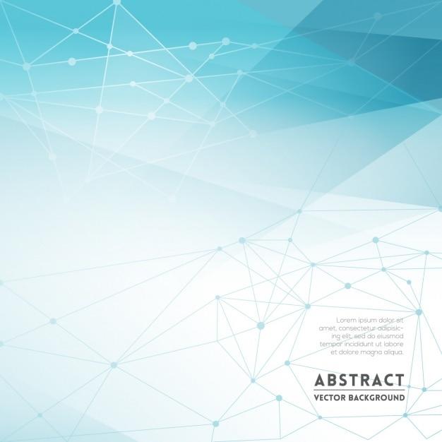 f5f04b86dbd9f Fondo abstracto en tonos azules con figuras poligonales