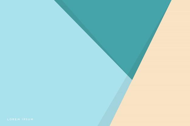 Fondo abstracto con triángulos coloridos vector gratuito