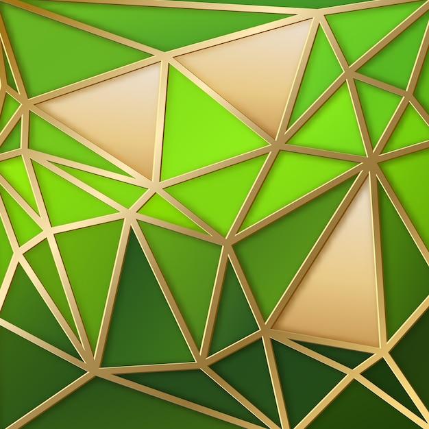 Fondo abstracto con triángulos geométricos vector gratuito