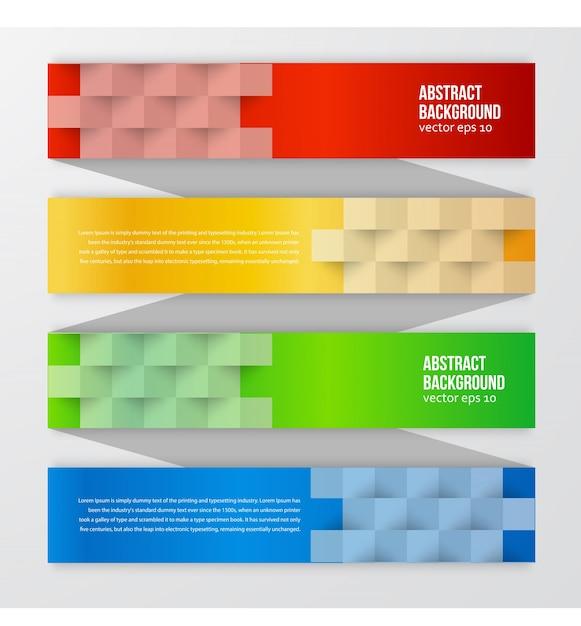 Fondo abstracto del vector. color de la etiqueta vector gratuito