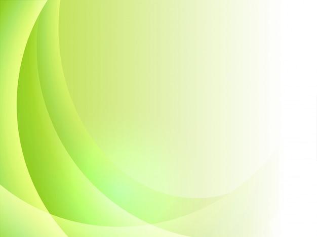 Fondo Abstracto Verde Y Blanco.