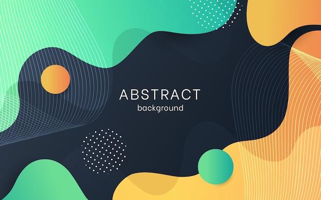 Fondo abstracto Vector Premium