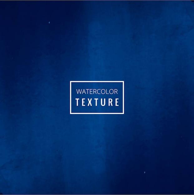 Fondo con acuarelas azul intenso vector gratuito