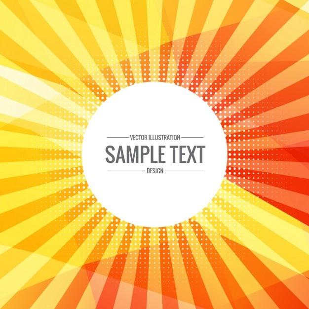 Fondo amarillo de rayos de sol descargar vectores gratis color altavistaventures Choice Image