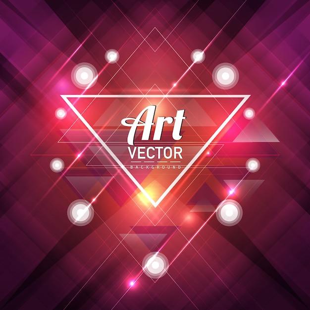 Fondo de arte vectorial vector gratuito