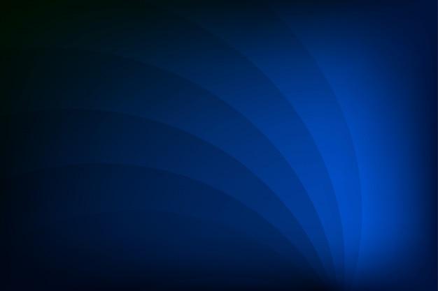 Fondo azul abstracto geométrico Vector Premium