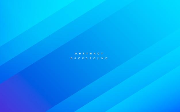 Fondo azul abstracto moderno vector gratuito