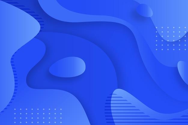 Fondo azul clásico abstracto vector gratuito