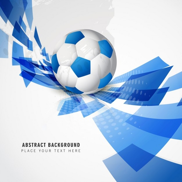 Abstract Football Vector Free