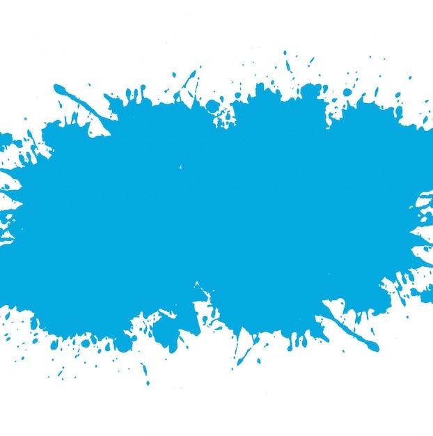 Fondo azul de mancha de acuarela descargar vectores gratis for Colores de pintura azul
