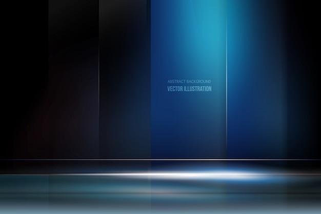 Fondo azul oscuro con luz descargar vectores gratis for Fondo azul oscuro