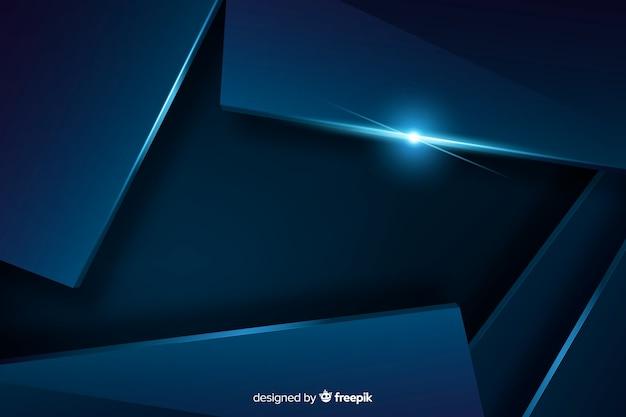 Fondo azul oscuro con efecto metalizado. vector gratuito