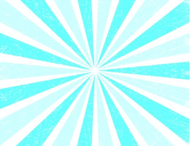 Rayos De Sol Vector: Fondo Azul De Los Rayos De Sol