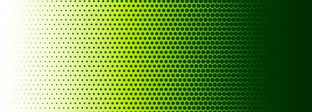 Fondo de banner colorido abstracto de semitono vector gratuito