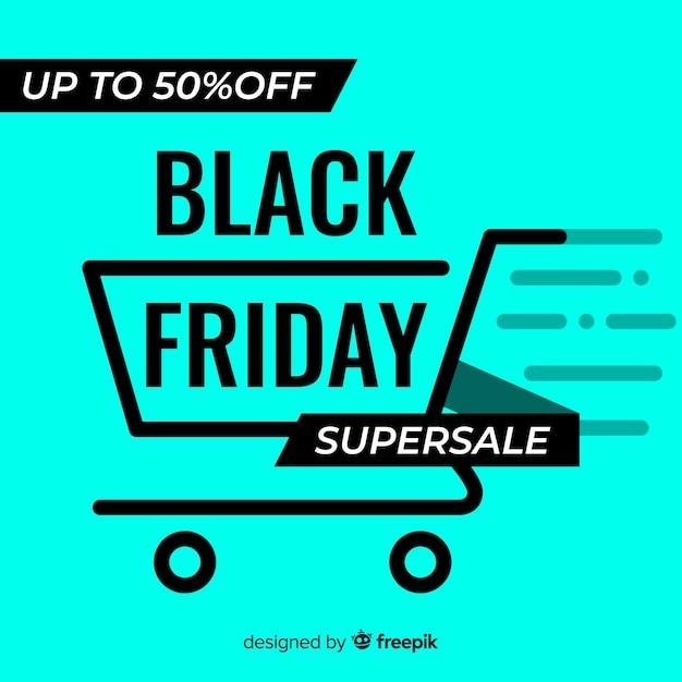 Fondo black friday fluorescente vector gratuito