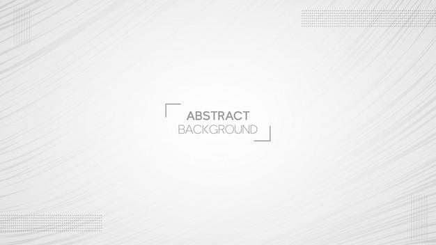 Fondo blanco abstracto minimalista Vector Premium