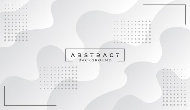 Fondo blanco abstracto moderno Vector Premium