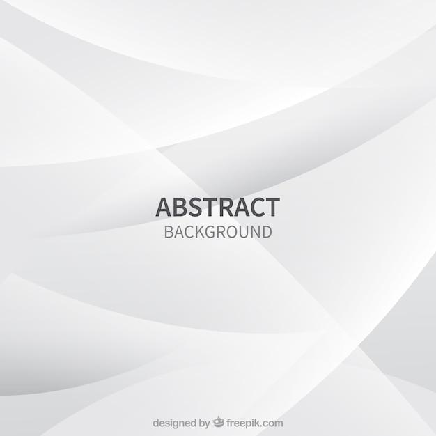 Fondo blanco con diseño abstracto Vector Premium