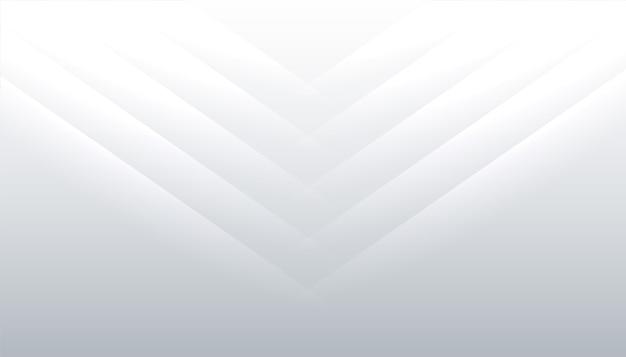 Fondo blanco con diseño de líneas brillantes vector gratuito