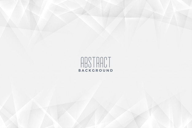 Fondo blanco en estilo abstracto vector gratuito