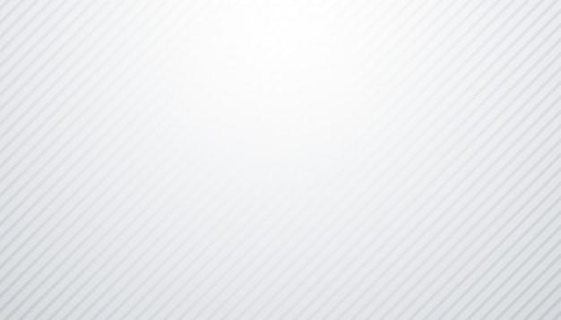 Fondo blanco y gris con patrón de líneas diagonales vector gratuito
