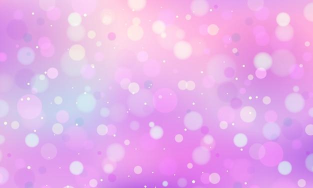Fondo bokeh pastel horizontal vector gratuito