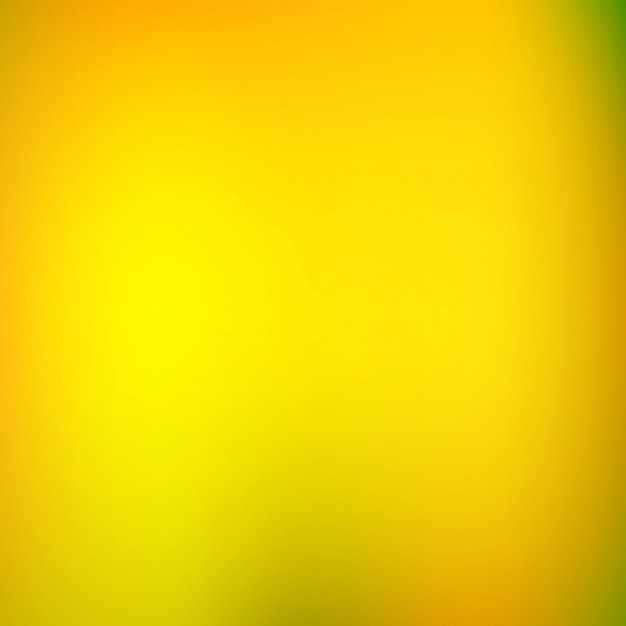 Fondo Brillante Borroso En Color Amarillo