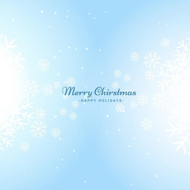 Fondo brillante de navidad en color azul celeste Descargar