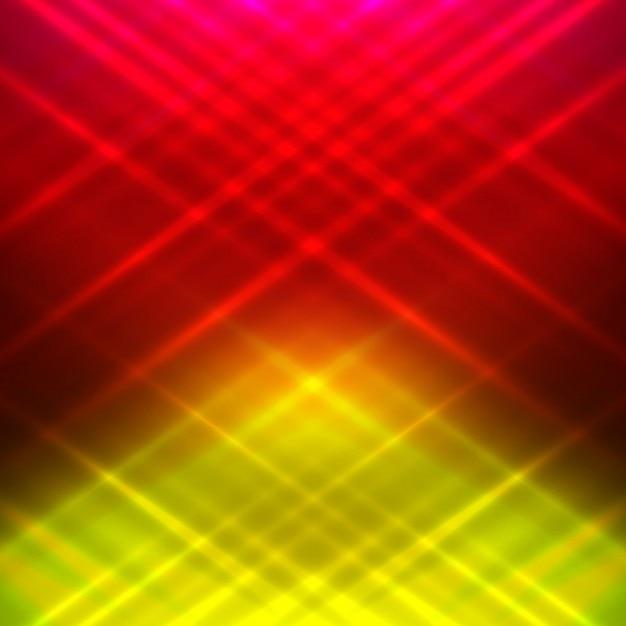 Fondo Brillante Rojo Y Amarillo