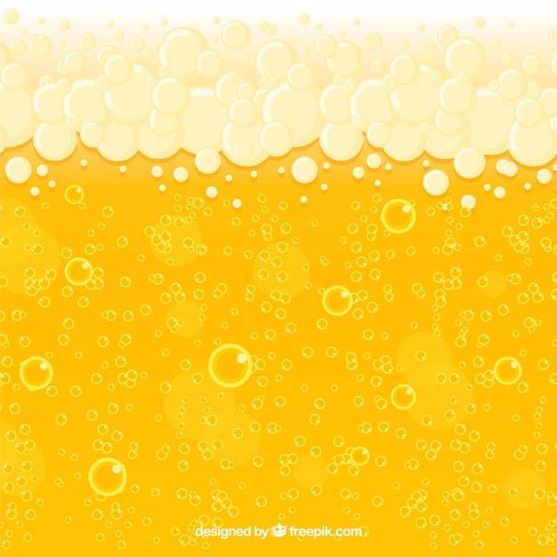 Fondo de cerveza vector gratuito