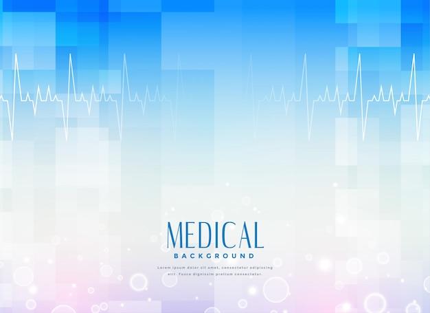 Fondo de la ciencia médica para la industria de la salud vector gratuito