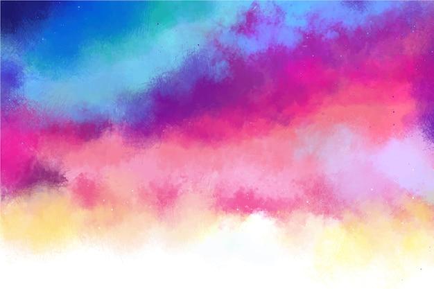 Fondo de colores degradados con espacio de copia vector gratuito