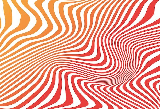Fondo colorido abstracto sin costura en zigzag vector gratuito